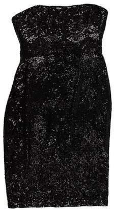 Marchesa Beaded Silk Dress w/ Tags