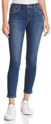 Current/Elliott The Stiletto Cropped Skinny Jeans in 1 Year Worn Stretch Indigo