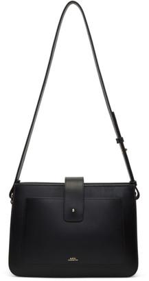 A.P.C. Black Albane Bag $575 thestylecure.com