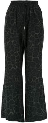 OSKLEN Lynx silk trousers