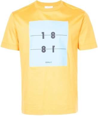 Cerruti printed front T-shirt