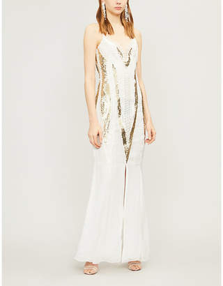 Temperley London Moondrop sequinned dress