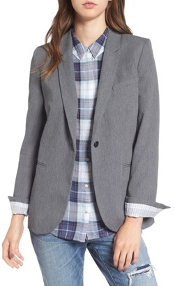 Women's Treasure & Bond Deconstructed Blazer $99 thestylecure.com