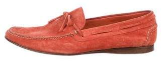 Hermes Suede Boat Shoes