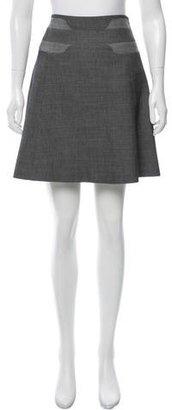 Karen Millen Pinstripe Midi Skirt $80 thestylecure.com