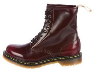 Dr. Martens Leather Combat Boots