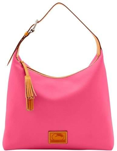 Dooney & Bourke Patterson Leather Large Paige Sac Shoulder Bag - HOT PINK - STYLE