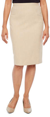Alfred Dunner La Dolce Vita Pencil Skirt-Petites