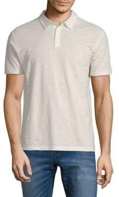 John Varvatos Marled Polo Shirt