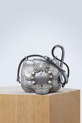 Miu Miu Dahlia studded bag