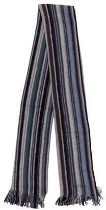 Paul Smith Wool Striped Scarf w/ Tags