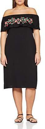 Evans Women's Puff Print Gypsy Dress (Size: /24)