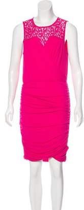 Cynthia Steffe Gathered Knee-Length Dress