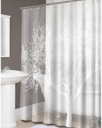 Splash Tree Shower Curtain