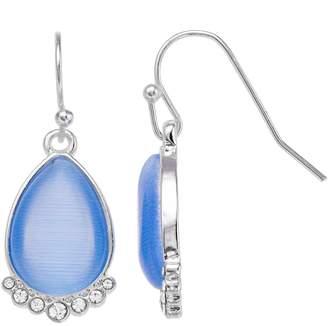 Lauren Conrad Blue Teardrop Earrings