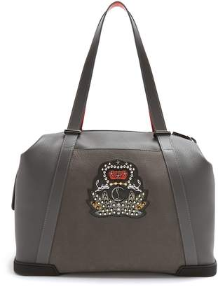 Christian Louboutin Bagdamon leather holdall