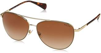 Ralph Lauren by Ralph by Women's 0ra4122 Aviator Sunglasses