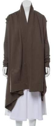 Rick Owens Knit High-Low Jacket