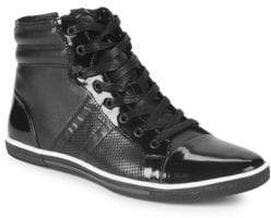 Kenneth Cole Base Down Low High-Top Sneakers