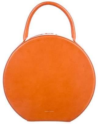 Mansur Gavriel Leather Circle Handle Bag