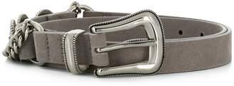 B-Low the Belt chain-embellished belt