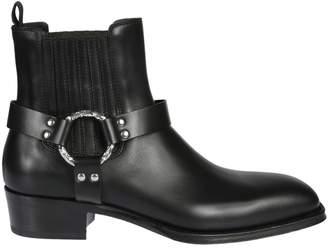 Alexander McQueen Cuban Heel Ankle Boots