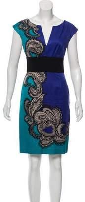 Trina Turk Print Sleeveless Dress