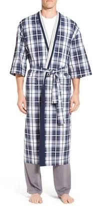 Men's Majestic International 'Mad 4 Plaid' Robe $85 thestylecure.com