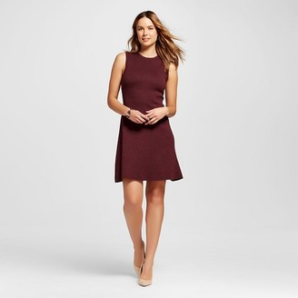 Women's Fit & Flare Sweater Dress - Merona $29.99 thestylecure.com