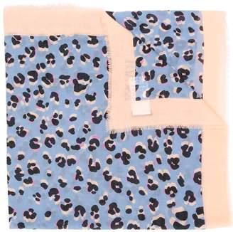 Escada leopard print scarf