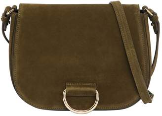 Medium Saddle Suede Shoulder Bag