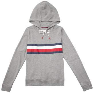 Tommy Hilfiger Global Stripe Pullover Hoodie - Grey, XL