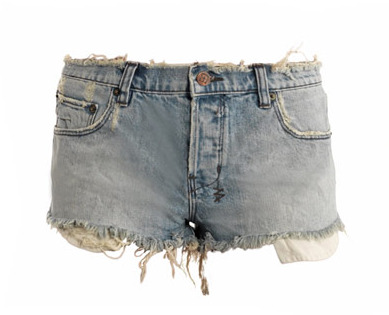 Ksubi Albuquerque stitch-detail shorts