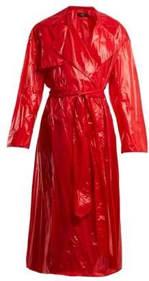 Ellery Le Strange Oversized Trench Coat - Womens - Red