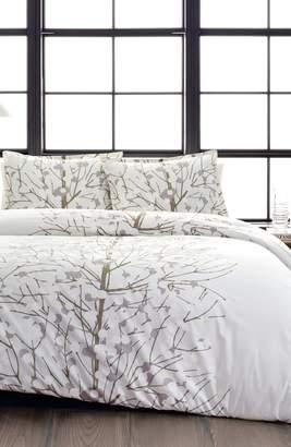 Marimekko Lumimarja Silver Comforter & Sham Set