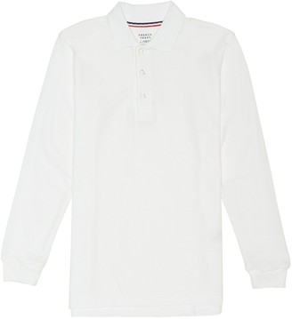 Boys 4-20 French Toast School Uniform Long-Sleeve Pique Polo