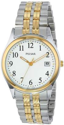 Pulsar Men's PXH448 Dress Two-Tone Stainless Steel Watch