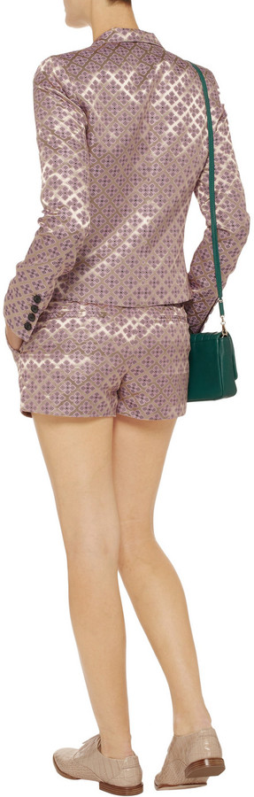 Elizabeth and James Tristan jacquard shorts