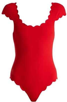 Marysia Swim Mexico scallop-edged swimsuit