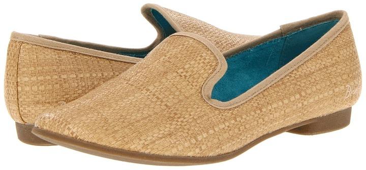 Blowfish Quick (Natural Faux Straw) - Footwear