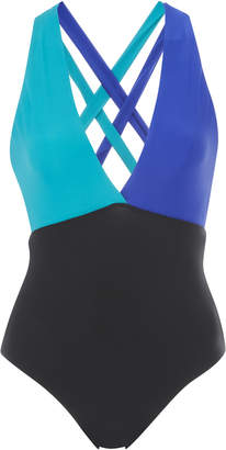 Sébastien Vivianne Color-Blocked Swimsuit