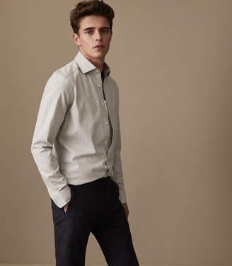 Reiss Zetterberg Slim Fit Cotton Shirt