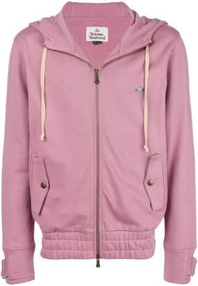 Vivienne Westwood hooded logo jacket