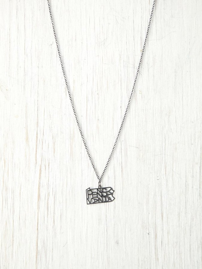 Kris Nations American State Necklace