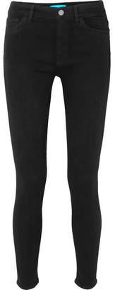 MiH Jeans Bridge High-rise Skinny Jeans - Black