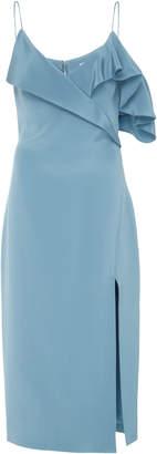 Cushnie et Ochs Adela Ruffled Pencil Dress