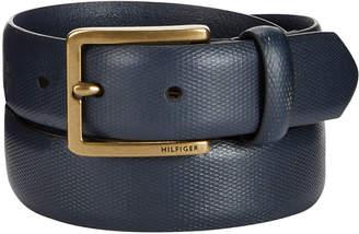 Tommy Hilfiger Men's Pebble Dress Belt