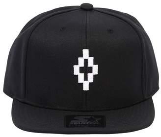 Marcelo Burlon County of Milan Logo Embroidered Baseball Hat