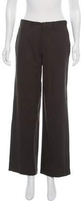 Ralph Lauren Black Label Mid-Rise Wide Pants