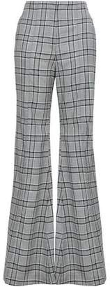 Zimmermann Checked Wool Flared Pants